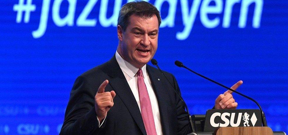 Bavorský premiér Markus Söder, ilustrační foto