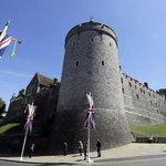 Ústřední dějiště - hrad Windsor