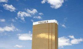 Budova Trump Tower v Las Vegas v Nevadě, USA.