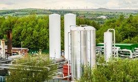 Elektrárna firmy Highview Power využívající kapalný vzduch v Anglii.