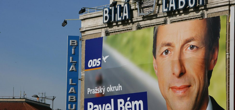 Poslanec Pavel Bém býval v Praze populární