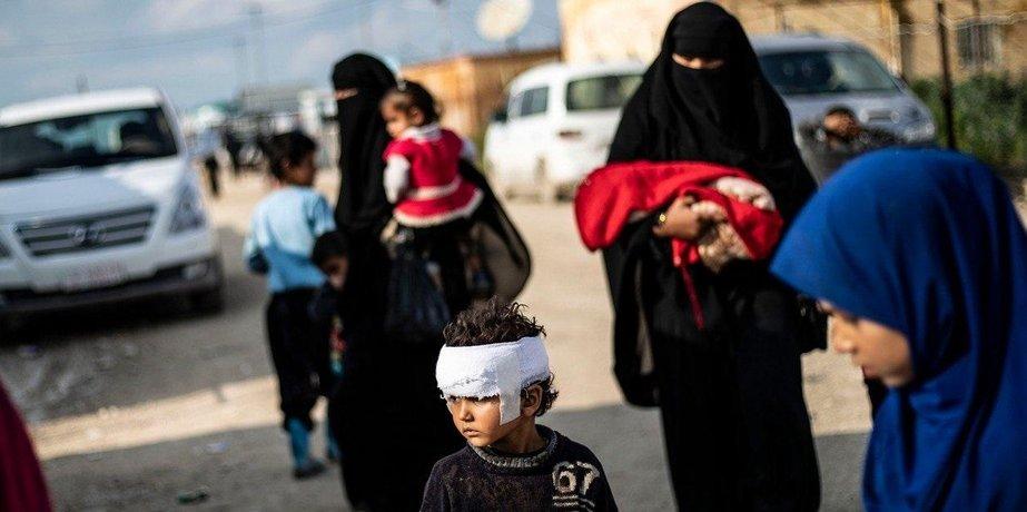 Uprchlický tábor al-Hol v Sýrii, ilustrační foto