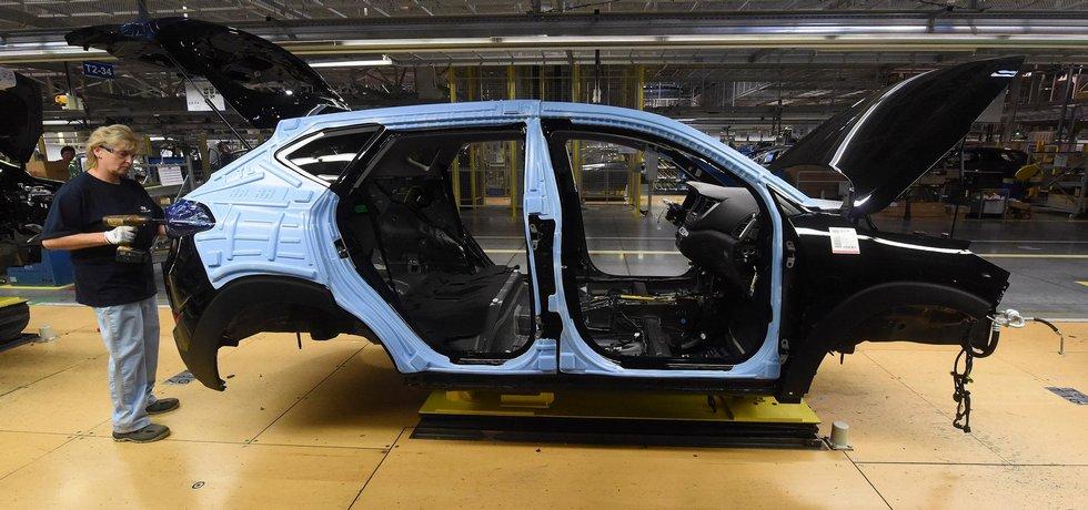 Výroba vozu vozu Hyundai Tucson