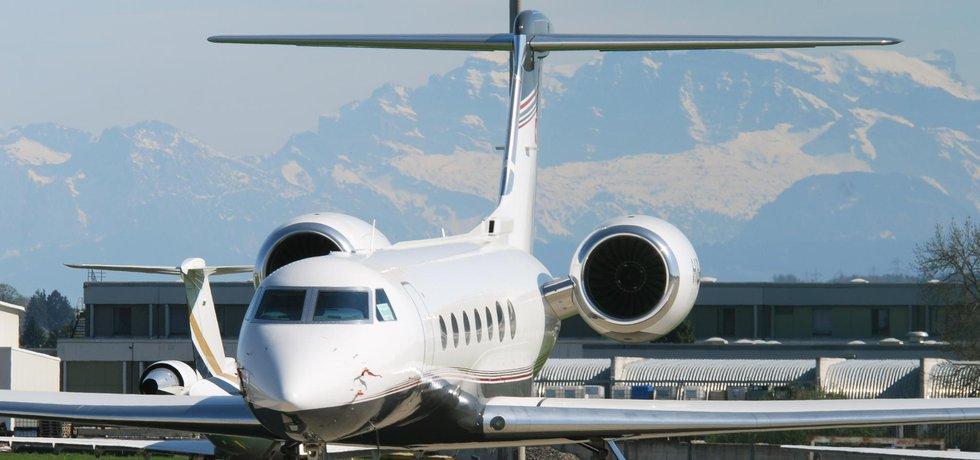 Gulfstream G550 (ilustrační foto)