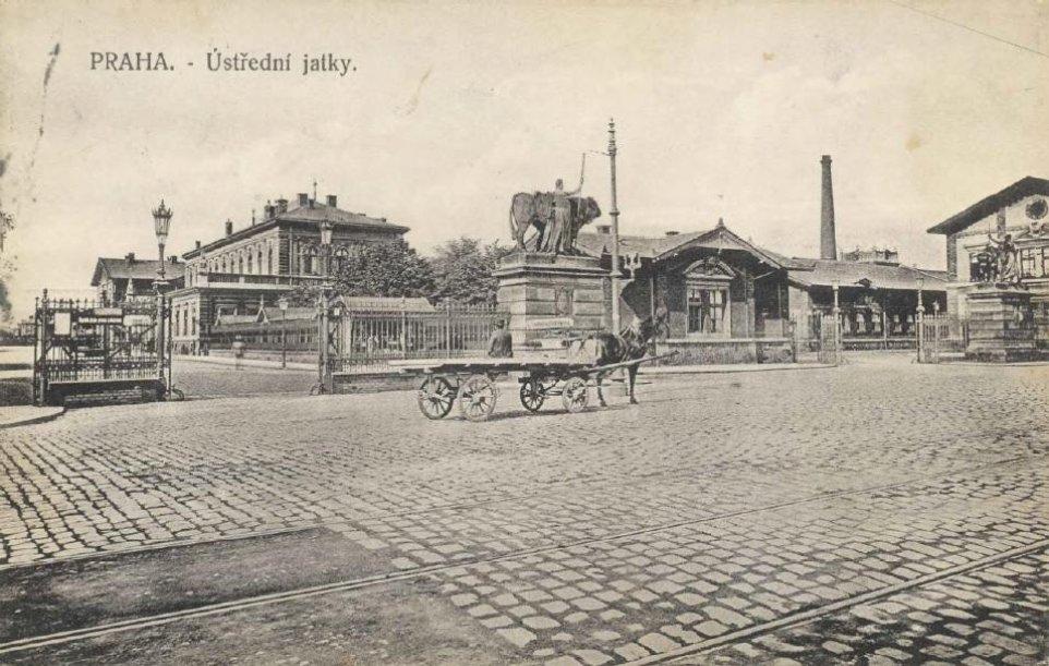 Historický pohled na Holešovickou tržnici