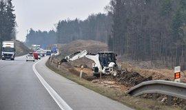 U Ševětína na Českobudějovicku byla zahájena stavba dálnice D3 v úseku Ševětín - Borek