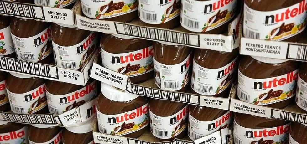 Nutella, ilustrační foto