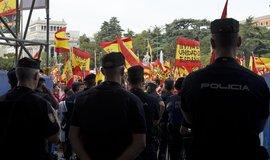 Demonstrace v Katalánsku