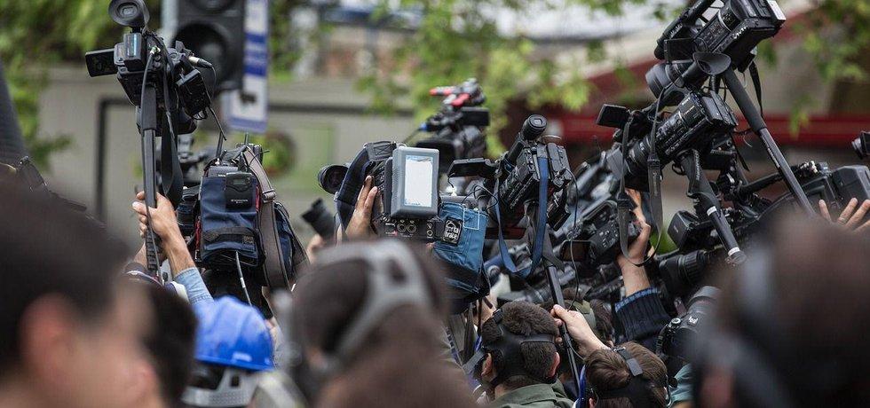 Novináři, ilustrační foto