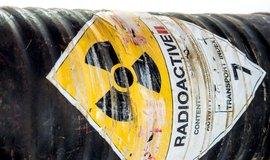 Radioaktivní odpad - ilustrační foto