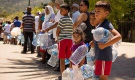 Fronta na vodu v Kapském Městě