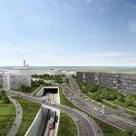 Letiště Václava Havla - Vedení trati na letiště bude řešeno v podzemí