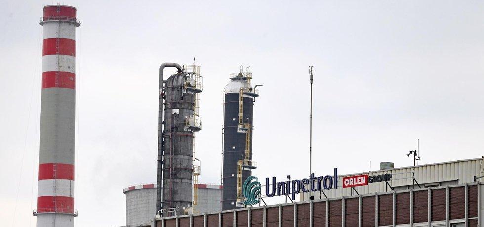 Chemický závod Unipetrolu v Litvínově