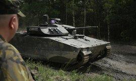 Švédský obrněný transportér CV90