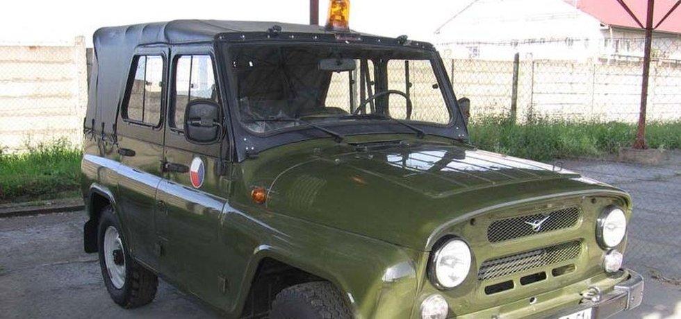 Osobní terénní automobil UAZ 469B