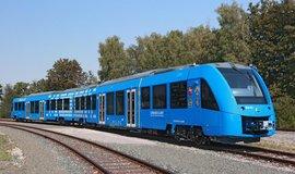 Coradia iLint je první osobní vlak poháněný vodíkem