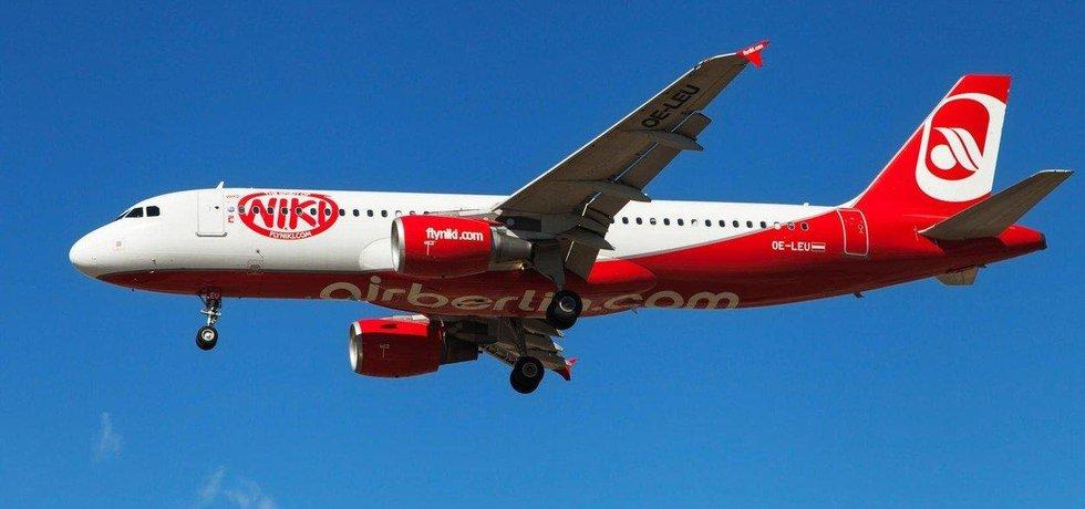 Letadlo aerolinek Niki