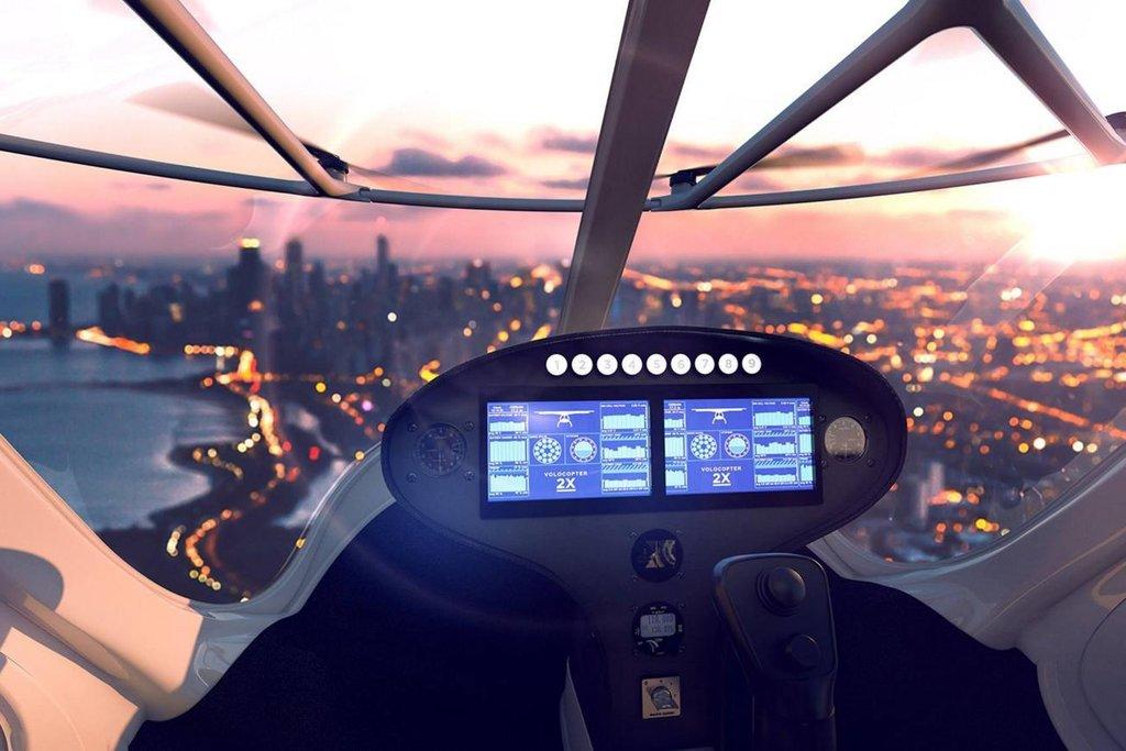 Taxi pro dvě osoby může létat rychlostí až 100 km/h
