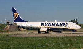 Letadlo Boeing 737-8AS je součástí flotily irských aerolinek Ryanair