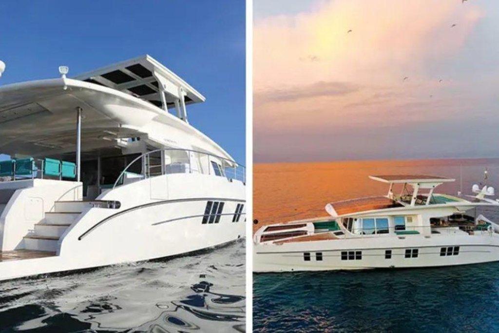 Téměř 23 metrů dlouhá, sluncem poháněná jachta. Za 7,1 milionu dolarů získá obdarovaný největší jachtu na světě poháněnou sluneční energií. Tu chytá více než sto metrů čtverečních fotovoltaických panelů. Na palubu se pohodlně vejde 12 cestujících a čtyřčlenná posádka.