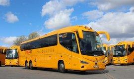 Autobus RegioJet, ilustrační foto