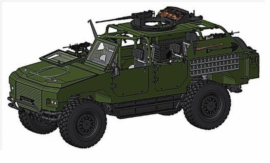 Nová vozidla Arm 7-Soft Top budou sloužit k vedení několikadenních bojových operací.