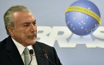 Brazilský prezident Michel Temer