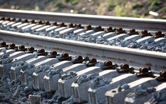Železniční pražce - ilustrační foto