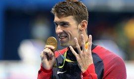 Nejúspěšnější olympionik historie Michael Phelps (Zdroj: čtk)