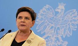 Předsedkyně vlády Beata Szydłová výtky Bruselu ohledně snahy současné polské reprezentace podmanit si justici odmítá
