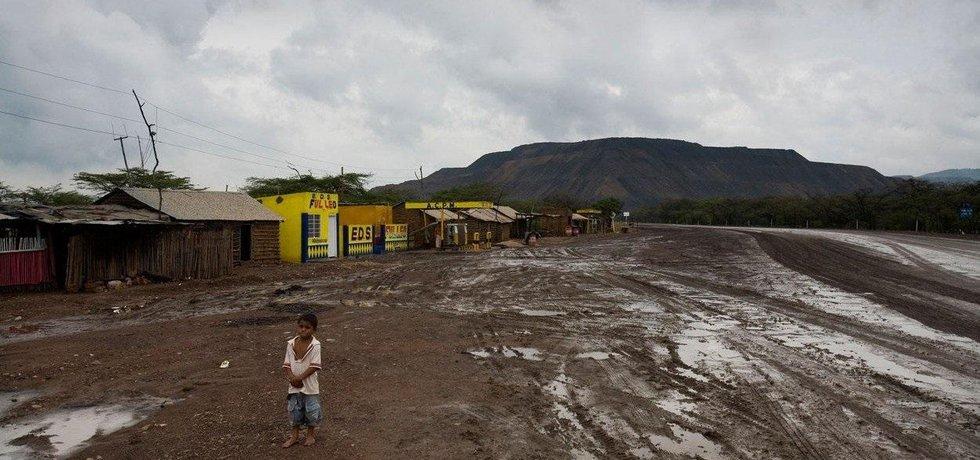 Obyvatelé v okolí povrchového dolu Cerrejón, ilustrační foto