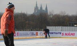 Praha nabízí zimní sportování a nový informační portál