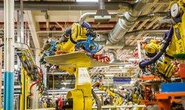 Výrobní linka automobilky Fiat Chrysler v Michiganu