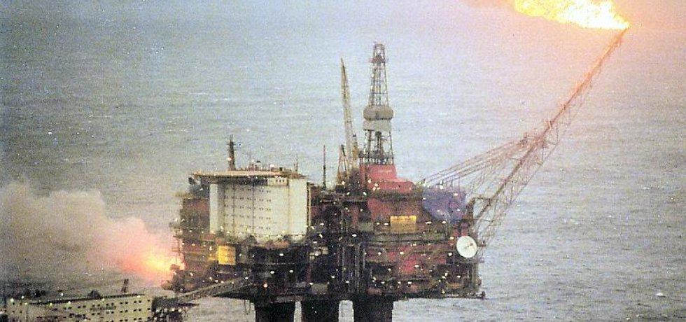 ropná plošina Statfjord, kterou provozuje norský ropný koncern Statoil