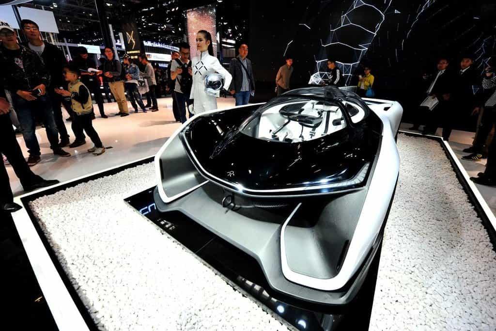 Dubnová premiéra vozu Faraday Future v Pekingu