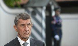 Babiš se sešel se Zemanem. Prezidenta požádal o rychlé řešení problému s ministrem kultury