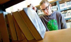 Univerzitní knihovna, ilustrační foto