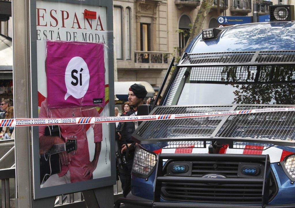 V metropoli Madridu se dnes konala demonstrace několika tisíc lidí