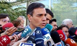 Lídr španělských socialistů Pedro Sánchez