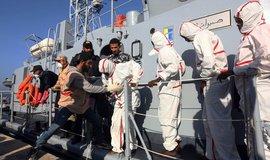 Libye je nástupiště pro cestu do Evropy