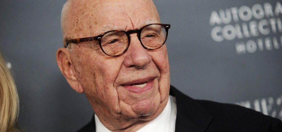 Americký mediální magnát Rupert Murdoch