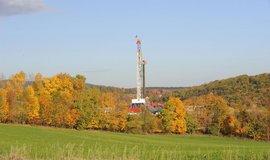 Těžba zemního plynu v USA - ilustrační foto