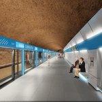 Vizualizace stanice metra D Olbrachtova
