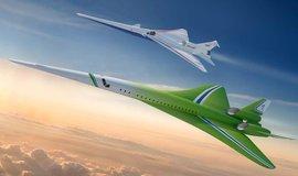 Koncept nadzvukového dopravního letadla firmy Lockheed Martin