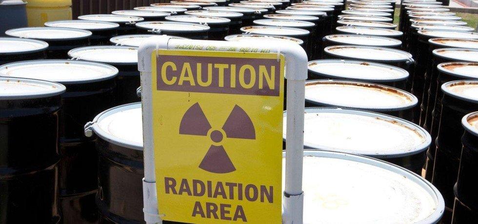 Radioaktivní materiál, ilustrační foto