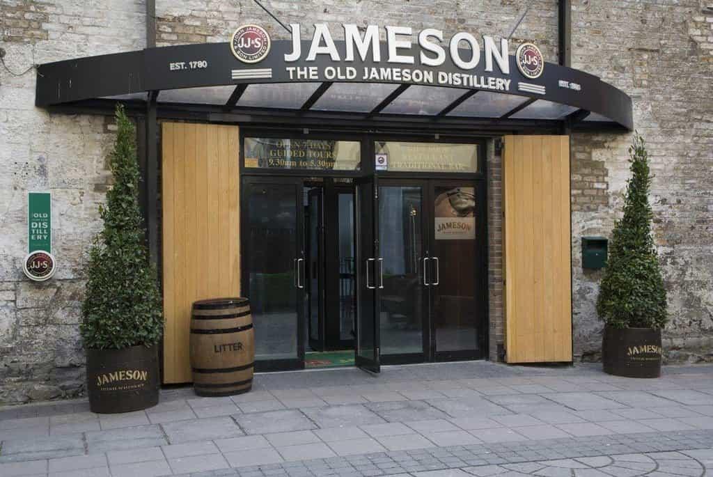 Jameson Distillery (Dublin, Irsko)