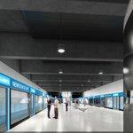 Vizualizace stanice metra D Nemocnice Krč