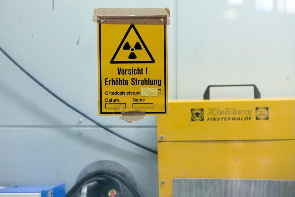 Úložiště jaderného odpadu v německém Lubminu. Pozor, zvýšené záření.