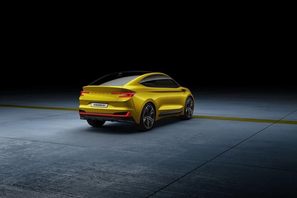 Koncept elektrického vozu Škoda Vision iV.
