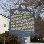 Připomínka havárie elektrárny Three Mile Island ve městě Middletown.